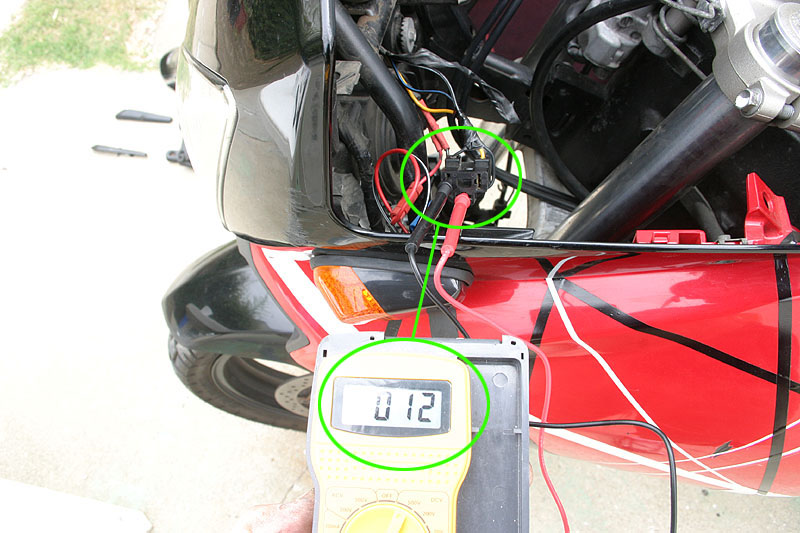 Wire Diagram With Color Coded Wires For Dl650 Dl1000 Might Be The